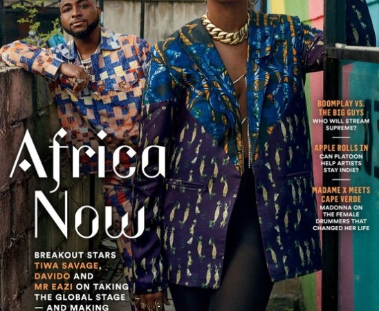 American Billboard Features Davido, Tiwa Savage & Mr Eazi On It's Cover