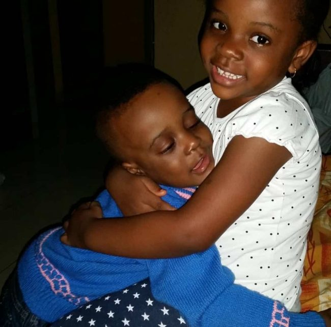 Beautiful Photos of Comic Actor, Mr Ibu and His Wife and Children