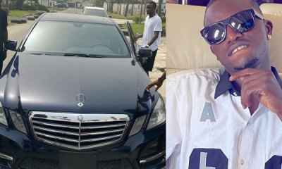 Davido's P.A, Aloma Survives a Car Accident in Lagos (Video)