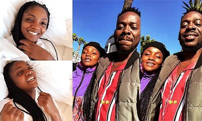 Simi Reveals Why She Chose To Marry Adekunle Gold & Not Falz