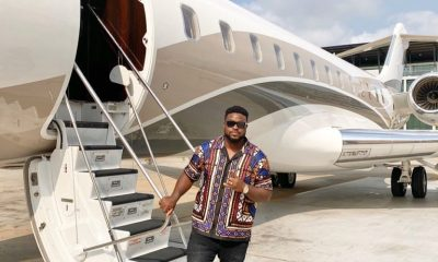 Davido's Father, Adeleke Acquires New Private Jet (Photos)