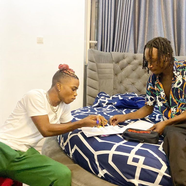 "Ex YBNL Singer ""Lyta"" Signed To Naira Marley Label ""Marlian Music"" 