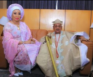 How Alaafin Of Oyo Pay Surprise Visit To Lizzy Anjorin In Lagos | VIDEO