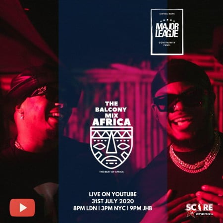Major League – Amapiano Live Balcony Mix Africa 25