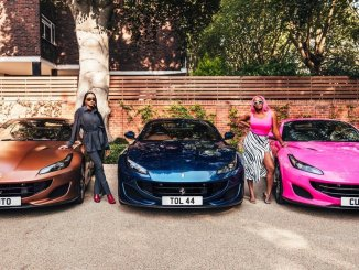 Femi Otedola Acquired New Ferraris For DJ Cuppy And Her Siblings