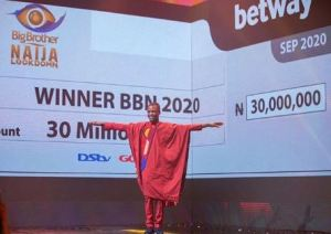 Laycon Says He Still Can't Believe He Won, On First Interview Since Winning BBNaija Season 5 (Video)