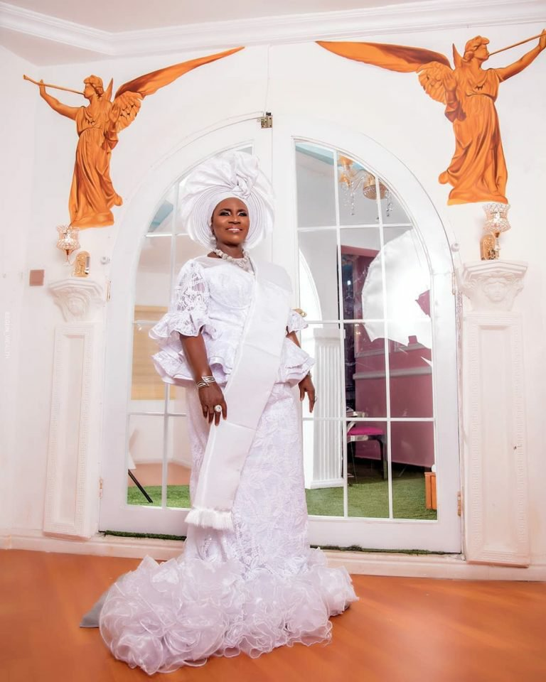 78 & Thriving! Check Out These Lovely Photos Of Idowu Philips a.k.a Iya Rainbow