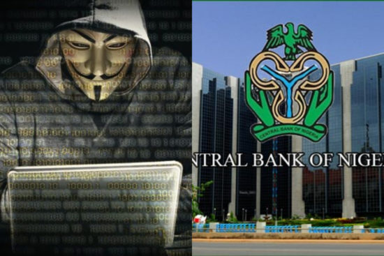 How Central Bank Of Nigeria Prevent Attacks From Anonymous Hackers (Photo)