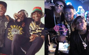 Twitter User Proves Wizkid & Davido Are Long Time Best Friends, Shows Evidence (Pics)