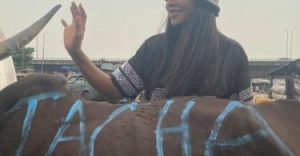 Tacha Gets Herself A Customized Cow To Celebrate Her 25th Birthday (VIDEO)