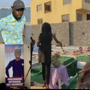 """#EndSARS protester, Oke, who died after tweeting """"Nigeria will not end me"""", has been laid to rest"""