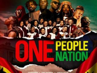 Stonebwoy – One People, One Nation Ft. King Promise, Efya, Darkovibes, Fancy Gadam, Fameye, Maccasio