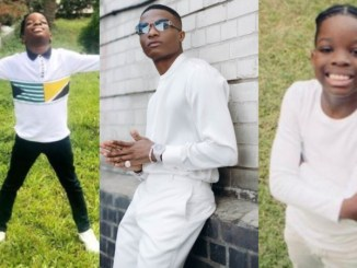 Wizkid Gifts First Son, Boluwatife A PS5 For Christmas