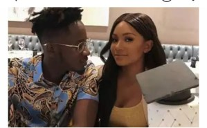 Check out Beautiful Loved Up Pictures Of Mr Eazi And Temi Otedola
