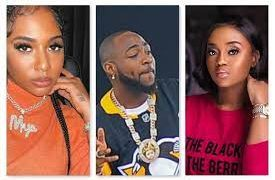 Davido's Baby Mamas & New Girlfriend Competes For His Attention On Social Media