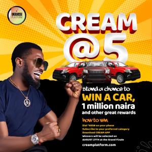 "D'banj's ""Cream Platform"" Set To Give Away Millions Of Naira And Brand New Cars"
