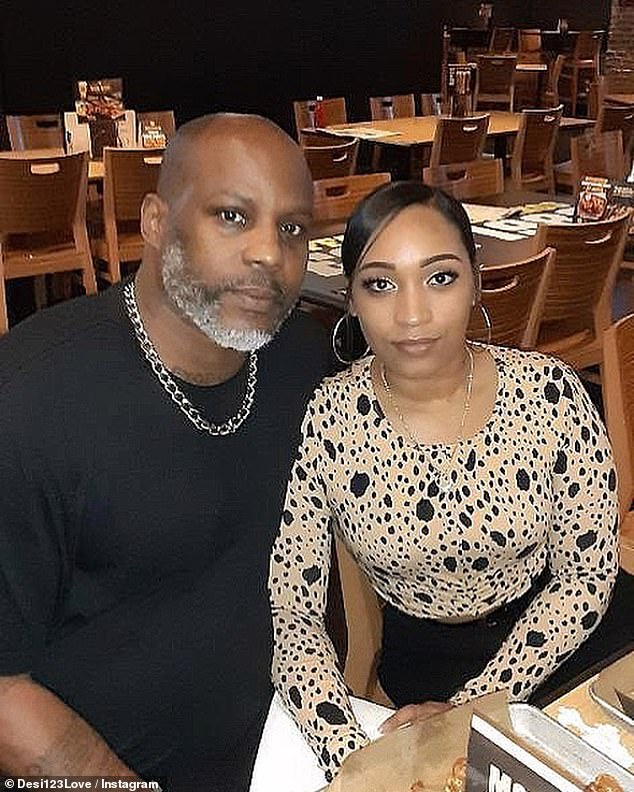 DMX's Fiancée, Desiree Gets Tattoo In Honor Of The Late Rapper