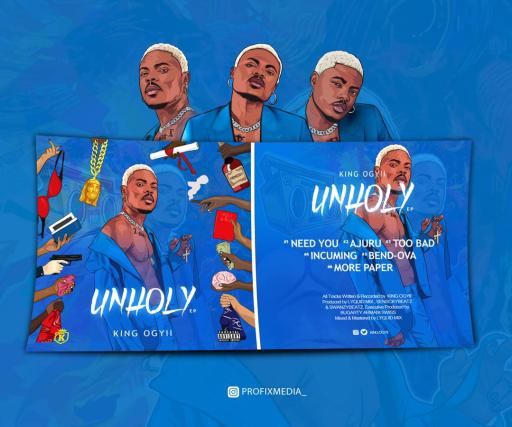"""K-Base Empire Signee """"KING OGYII"""" to release EP Titled """"UNHOLY"""""""