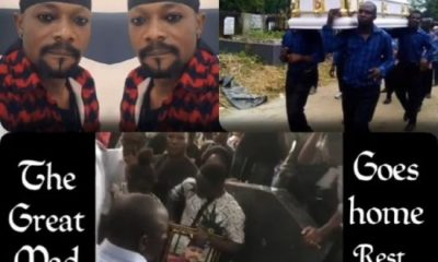 Mad Melon Of Danfo Driver Buried (Photos)