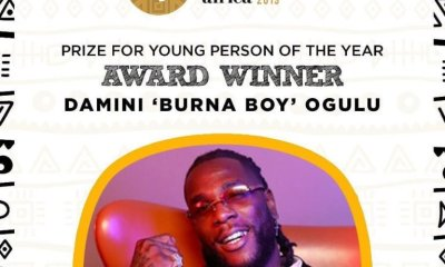 Meet the Winners at The Future Awards Africa 2019!