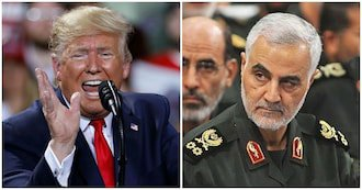 President Donald Trump justifies killing of General Qassem Soleimani