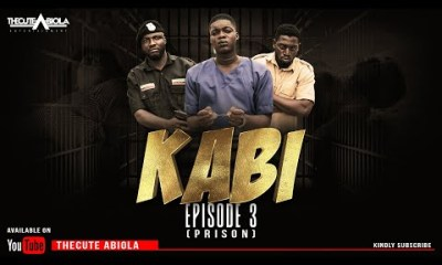 COMEDY VIDEO: KABI - EPISODE 3 (PRISON) - THECUTE ABIOLA