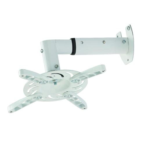 White Wall Hung Projector Mount (SPWM04W) 4