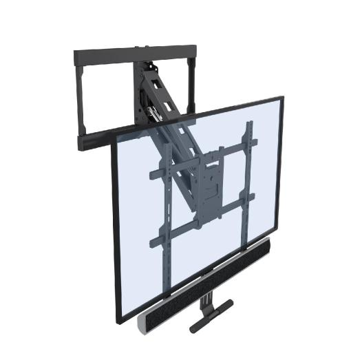 SMF600 Screen superimposed in down position