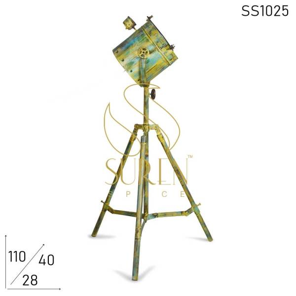 SS1025 Suren Space Distress Painted Folding Industrial Lamp