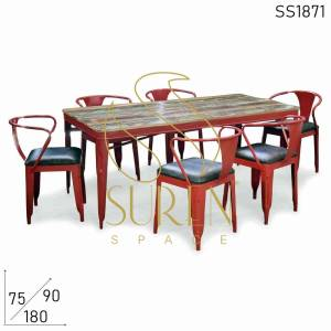 SS1871 Suren Space Commercial Grade Food Court Kantine Restaurant Dining Set