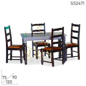 SS2471 Suren Space Carved Solid Wood Fine Dine Restaurant Furniture