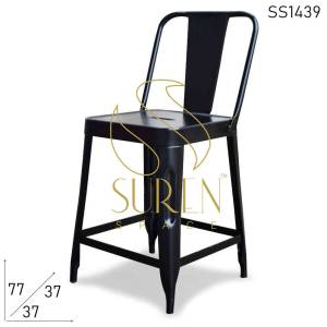 SS1439 Suren Space Compact Cafe Bistro Coffee Shop Small Seating Chair