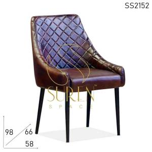SS2152 Suren Space Leather Hotel Accent Chair