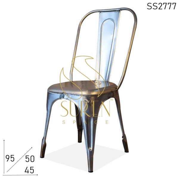 SS2777 Suren Space Metal Stackable Cafe Chair