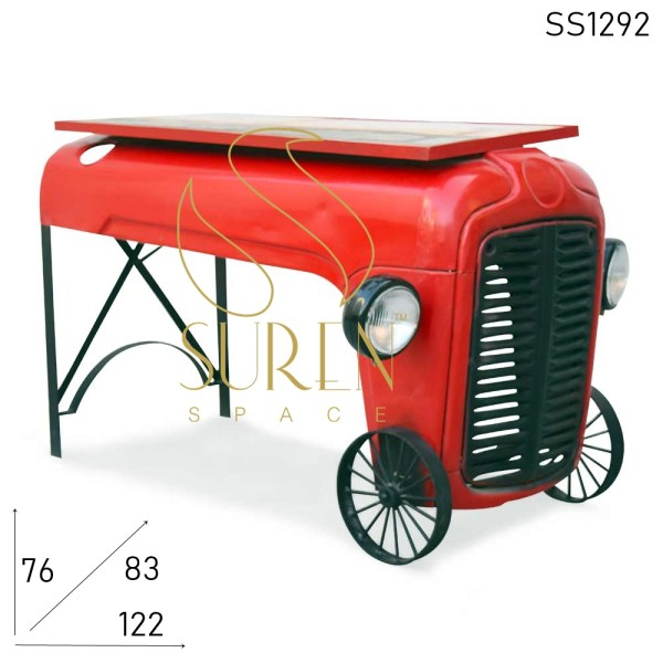 SS1292 Suren Space Industrial Automobile Tractor Design Console Table