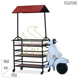 SS2130 Suren Космический банкет Таблица Дизайн Уникальной автомобильной мебели