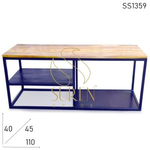 SS1359 Suren Space Simple Elegant Industrial Entertainment Unit