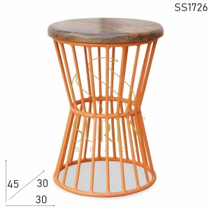 SS1726 Suren Space Industrial Design Bistro Outdoor Stool