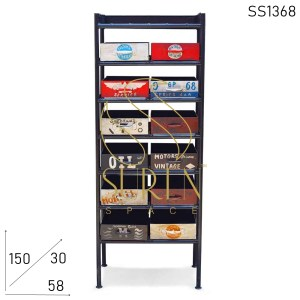 SS1368 Suren Space Hand Painted Industrial Design Drawer Chest