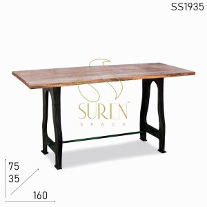 SS1935 Suren Space Cast Iron Folding Console Table