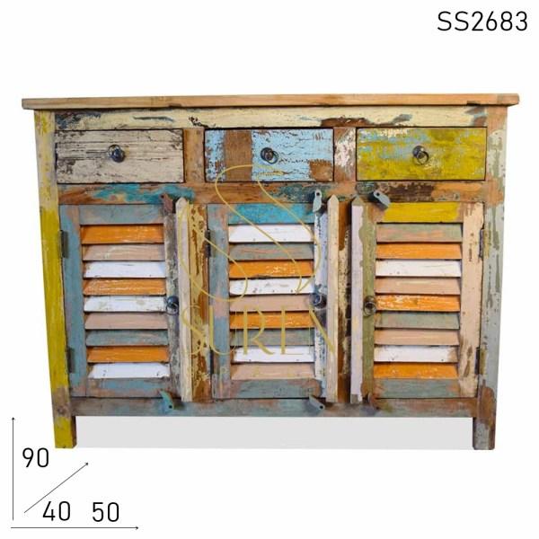 SS2683 Suren Space Sutter Design Three Door Three Drawer Sideboard