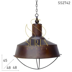 SS2742 SUREN SPACE Rustic Industrial Finish Ceiling Hanging Lamp