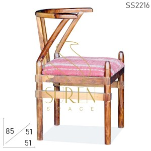 Wooden Hotel Chair