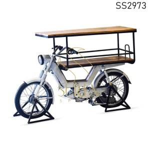 Indian Moped Design Automobile Banquet Table