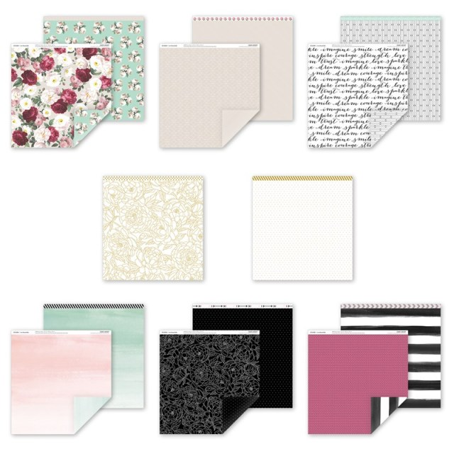 CTMH Live Beautifully Paper Pack