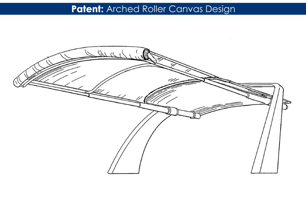 Arched Roller Framework Patent