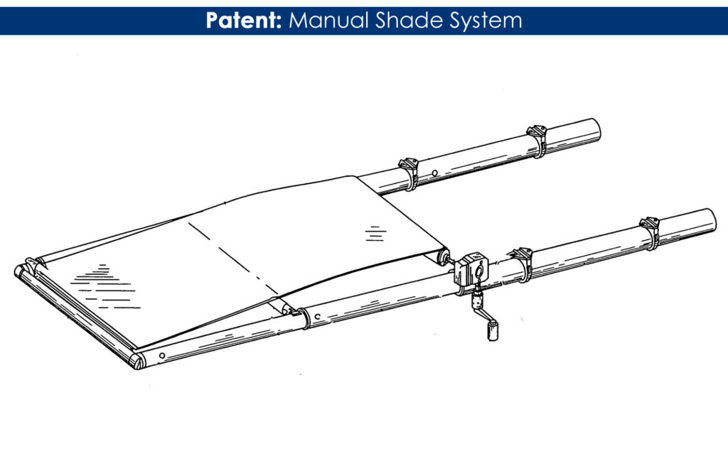 Manual Shade Patent