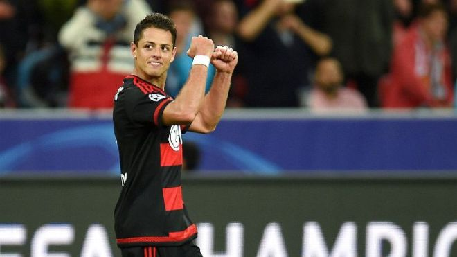 Chicharito Leverkusen