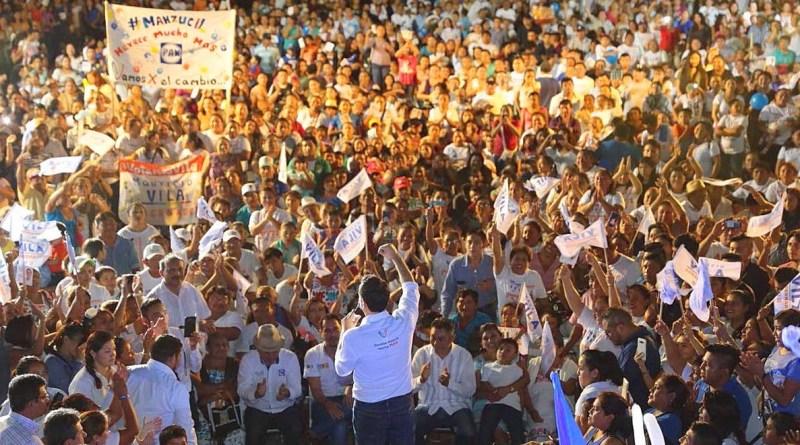 """""""Con el voto de cada yucateco, vamos a construir juntos el mejor Yucatán de todos los tiempos"""": Vila Dosal"""