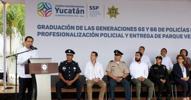 Fortalecer la seguridad en Yucatán, prioridad del Gobernador Mauricio Vila Dosal
